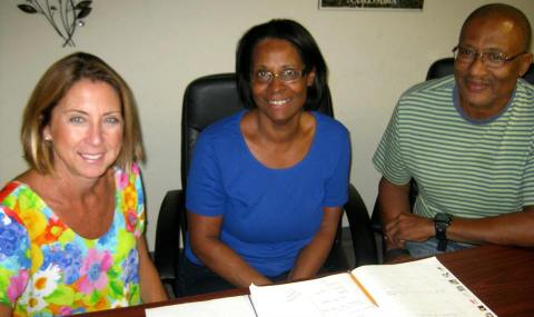 Kathy always wanted to learn a second language and El Señor y Señora Williams stay in Panama for 6 months every year!
