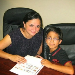 A mom and son powerful duo! Both want to learn Spanish to enhance their lives!